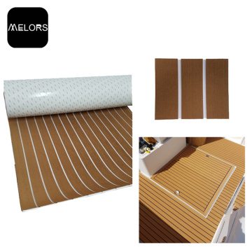 Light Brown & White UV Resistant EVA Foam Boat Mat