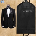 Fashion Clear plastic zipper garment bag/Fabric garment bag