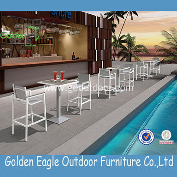 Modern Wicker Garden Furniture Outdoor Bar Set