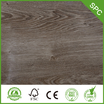 7mm very popular spc flooring tile