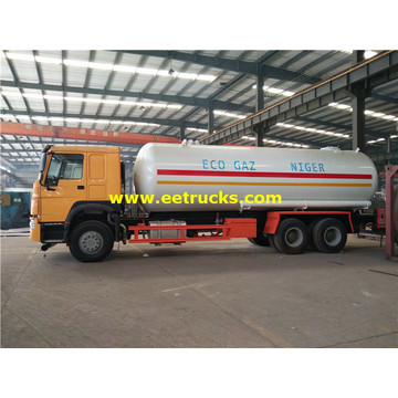 15MT 6x4 LPG Road Tank Vehicles