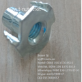 Riveted Zinc plated M8x17 Furniture T-Nuts