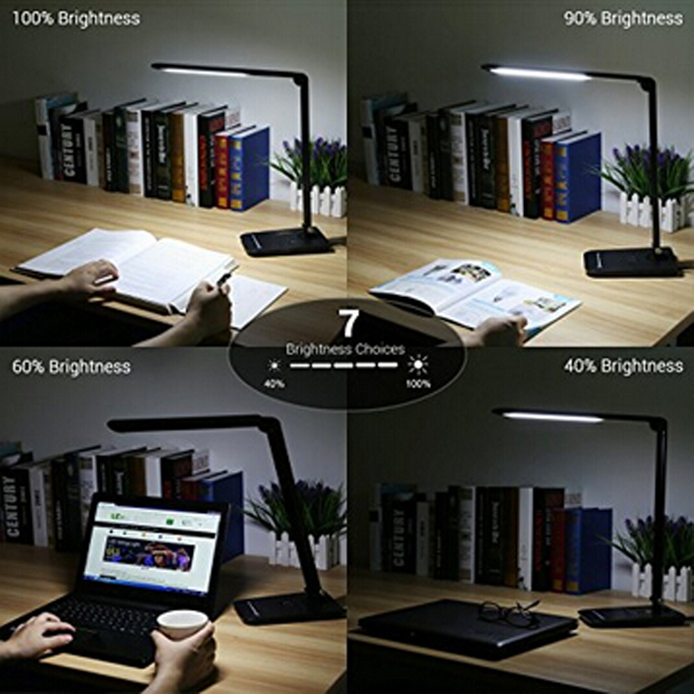 Portable foldable USB rechargeable led table lamp