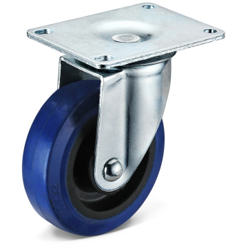 The Elastic Rubber Large Flat Bottom Movable Casters