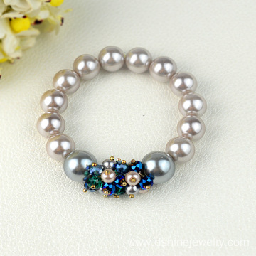 Pearls Strands Crystal Jewelery Crystal Bead Bracelets