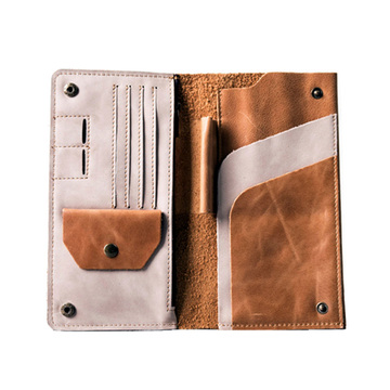Genuine Leather Passport Holder Travel Wallet Bags