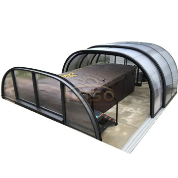 Leading for Polycarbonate Swimming Pool Enclosures Supply Screening Material Pool Enclosure Screen Type export to Bulgaria Manufacturers