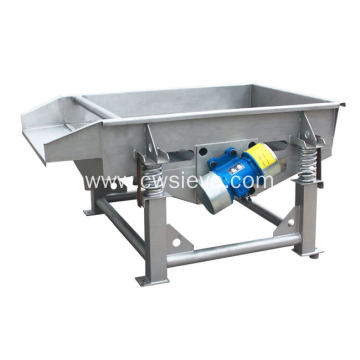 High output stainless steel  linear vibrating screener