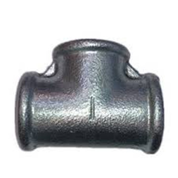 Reducing Tees Beaded Galvanized Malleable Cast Iron