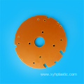 Process laminated resin bakelite sheet orange