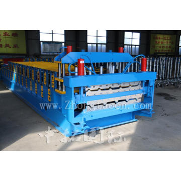 Automatic Double Layer Floor Deck Roll Forming Machine