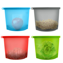 Popular Reusable Silicone Food Storage Bag