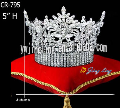 Rhinestone King Pageant Crowns CR-795