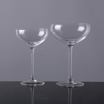 Crystal Coupe Champagne Glasses