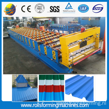 T6 1000 roofing sheet roll forming machine