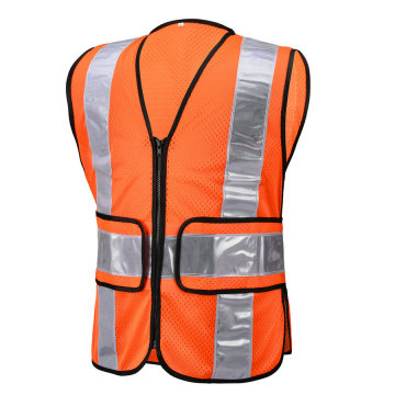 Silver Color Crystal Tape Reflecive Vest