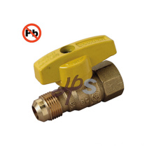 Low Lead Material Brass Gas Ball Valve