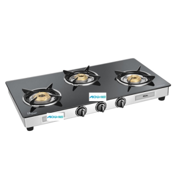 Regal 3 Burner Toughened Glass Cooktop