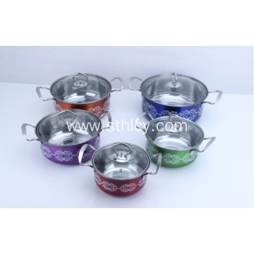 Stainless Steel Soup Pot Cookware Set