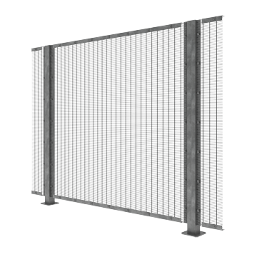 Prison Safety 358 Fence