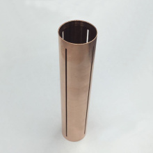 High Speed Machining of Pure Copper Pipe