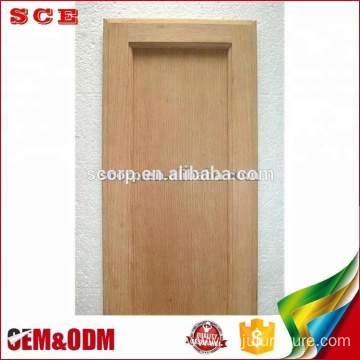 American flat insert panel Red Oak wooden kitchen cabinet doors