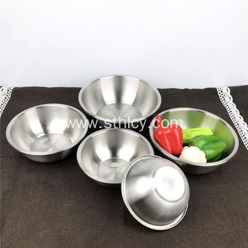 Vegetable Salad Soup Basin