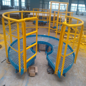 Galvanized Steel Bar Grating Platform