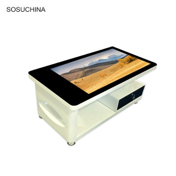 digital signage LCD touch table coffee