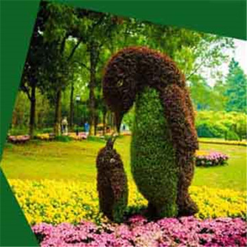 Factory Cheap price for Garden Decoration Artificial Green Sculpture Anti-corrosion rtificial animals plant sculpture supply to Japan Wholesale