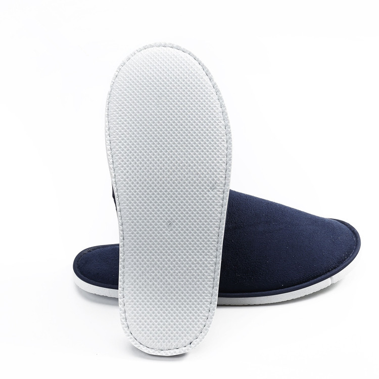 Chinese new design velour men EVA house slippers