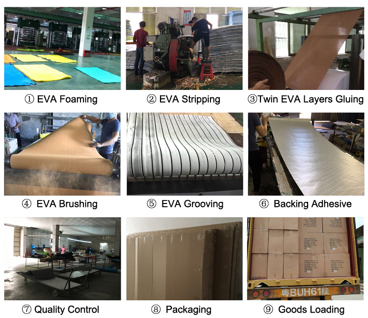 Foam For Boat Floor EVA Decking Material Foam Flooring