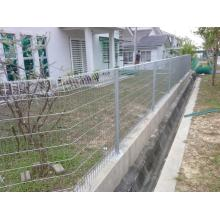 Roll Top Mesh Fence Panels