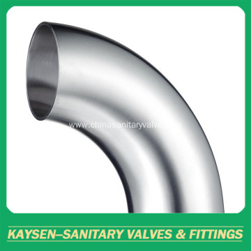 SMS/DS Sanitary long welded Elbow 90 degree