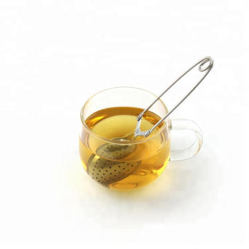 Stainless Steel Mesh Tea Infuser With Handle