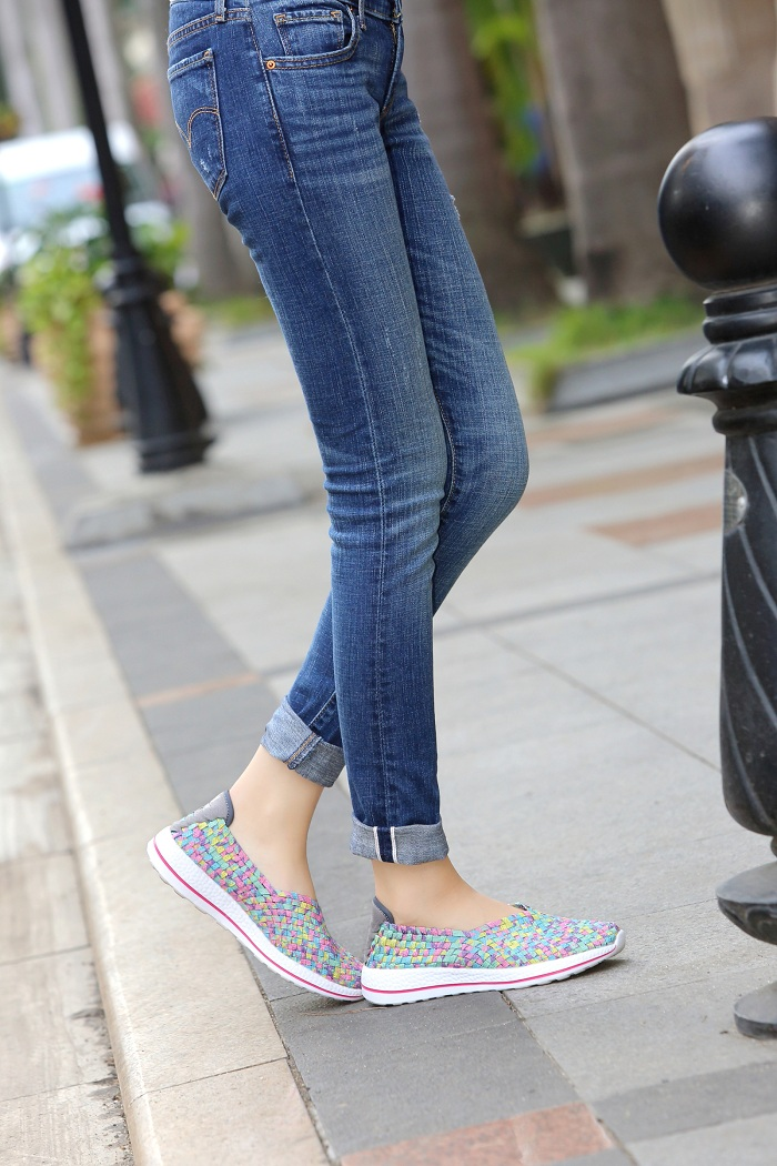 A Pair Of Flat Slip-ons