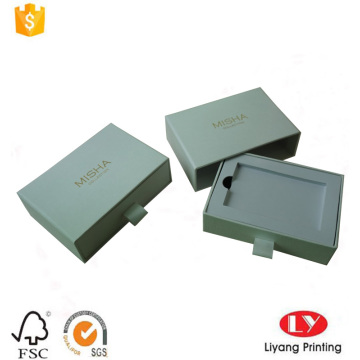 Custom white phone gift paper packaging box