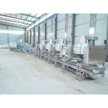 Industrisl hot oil type popcorn production line