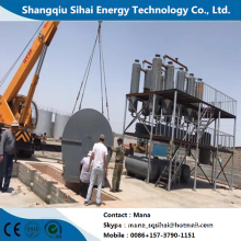 Free installation waste oil distillation plant
