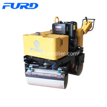 Good Quality for Walk-Behind Double Drum Roller 800kg Self-propelled Road Roller With Full Hydraulic supply to Israel Factories