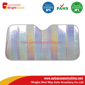 Bottom price for Supply Laser Film Sunshades, Laser Film Front Sunshade, Shining Laser Sunshade of High Quality Laser Film Car Window Shade supply to Saint Lucia Manufacturer