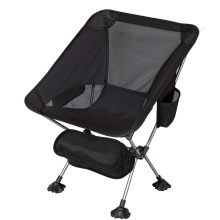 Black Fishing Sports Ultralight Folding Chair