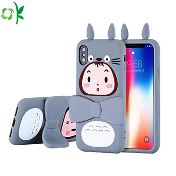 Popular Fashion Silicone Phone Case with Holder