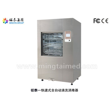 Rapid automatic washer disinfector