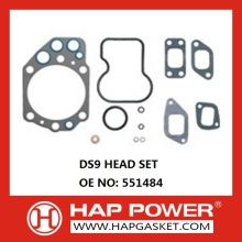 Customized Supplier for Head Gasket Set Scania Gasket Set 551484 export to Malaysia Supplier
