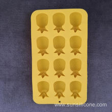 Pineapple shape multifunctional silicone ice box cake mold