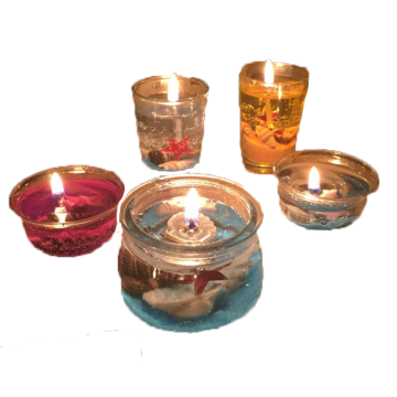 Fragrance Wholesale Decoration Jelly Candle