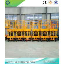 0.5t 9m Height Electric Mini Scissor Lift