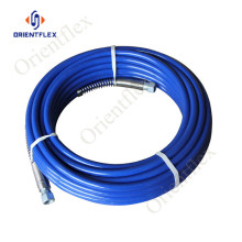 solvent resistant high pressure airless painting hose 227bar