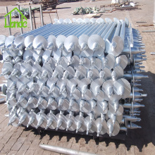 Steel Helical Pile for Fixing Deck